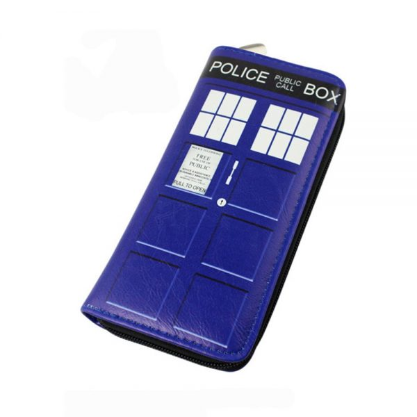 Anime Movie Doctor Who Long Wallet PU Leather Purse Men Women Clutch Dollar Price Card Holder Bags Gifts Zipper Wallets