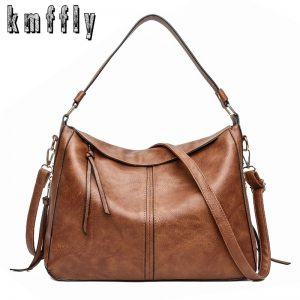 Luxury handbags women shoulder bag large tote bags hobo soft leather ladies crossbody messenger bag for women 18 Sac a Main