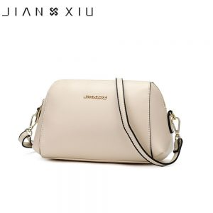 JIANXIU Brand Pu Leather Crossbody Bags For Women Messenger Bags Solid Color Shoulder Bags For Women 19 Purses Small Handbags