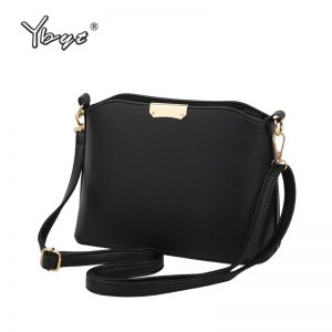 YBYT brand 19 new simple casual women satchel hot sale lady high quality shopping shell bag shoulder messenger crossbody bags