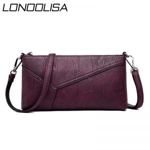 Vintage Small Leather Women Shoulder Bag Female Mini Crossbody Bags for Women Famous Designer Messenger Bags Clutch Sac