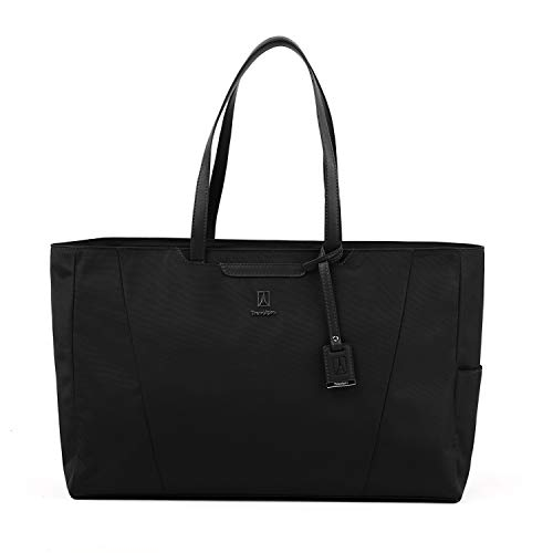 Travelpro Women's Maxlite 5 - Laptop Carry-On Travel Tote Bag, Black, One Size