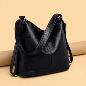 Large Capacity Women Hobos Bag 19 Multifunction Vintage Female Messenger Bag Designer Shoulder Bag Top-handle Bags Sac A Main