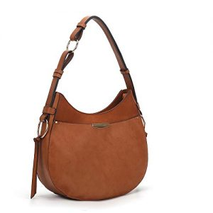 AFKOMST Hobo Bags for Women Hobo Purses and Handbags Hobo Shoulder Bags Brown