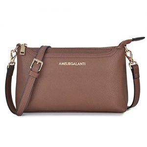 AMELIE GALANTI Womens Crossbody Bag, Satchel Purse