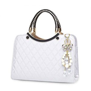 TIBES Shiny Patent Leather Women Purses and Handbags Ladies