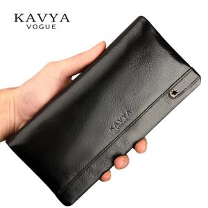 New Designer Gift for man Calfskin Purse