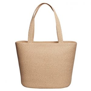 Eric Javits Luxury Fashion Designer Women's Handbag - Squishee Tote - Peanut
