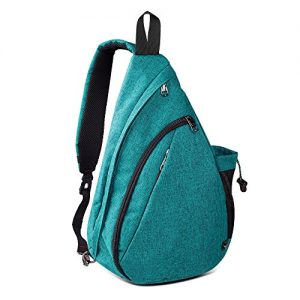 OutdoorMaster Sling Bag - Crossbody Shoulder Chest Urben/Outdoor/Travel Backpack for Women & Men (Teal)