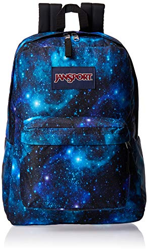 JanSport Superbreak One Backpack - Lightweight School Bookbag - Galaxy