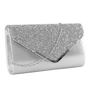 Kadell European And American Fashion Chain Bag Ladies Clutch Bag Evening Party Bag Silver L