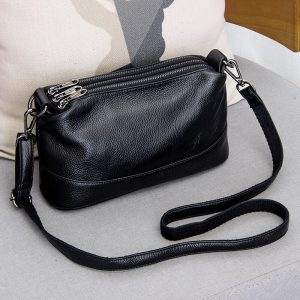 Genuine Leather Shoulder Bag Women's Crossbody Bags for Women Luxury Handbags Fashion Female Purse Totes Messenger Bag