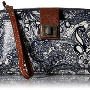 Sakroots womens Women's Artist Circle cross body handbags, Navy Spirit Desert, One Size US