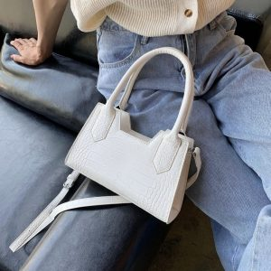 Purse And Handbags For Women Small Crossbody Shoulder Bag Ladies Messenger Bag Vintage Totes Solid Color Female Clutch Women Bag