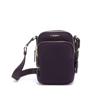 TUMI - Voyageur Ruma Crossbody Bag - Over Shoulder Satchel for Women - Blackberry