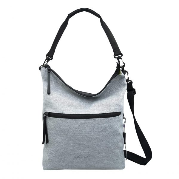 Sherpani Vale, Anti Theft Travel Crossbody Bag, Tote Bag, Shoulder Bag, Crossbody Purse for Women, with RFID Protection (Sterling)