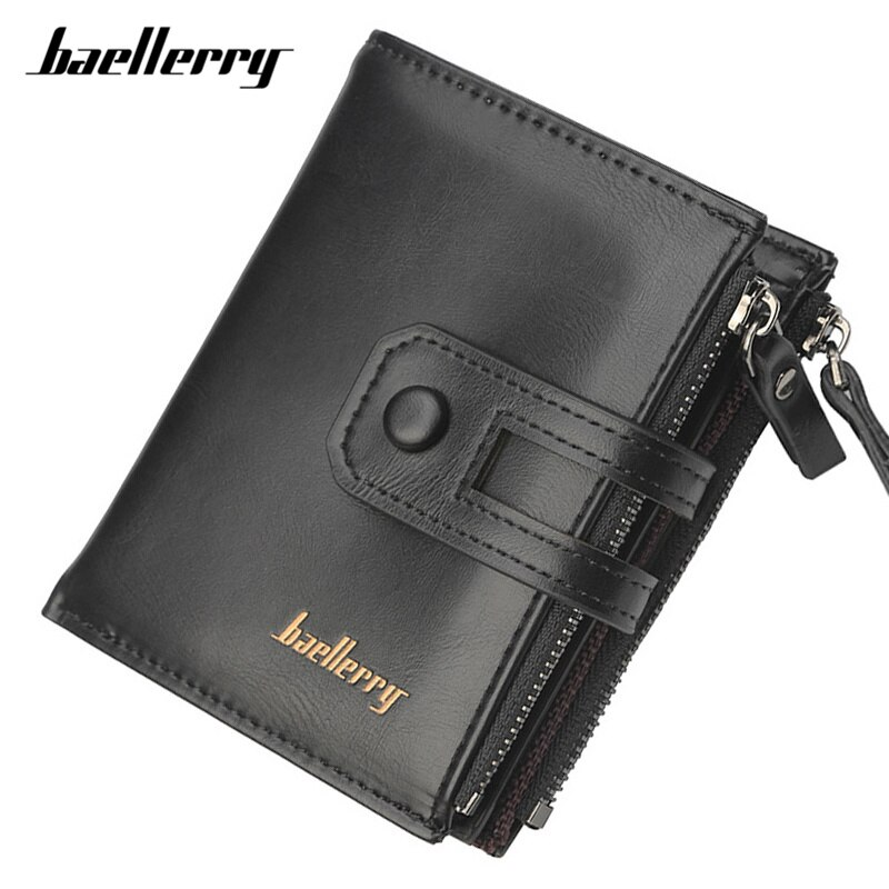 Large Capacity Card Holder Double Zipper Coin Purse