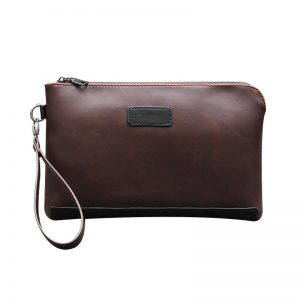 Males's Clutch bag Zipper Wallet for Coins