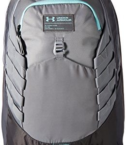 Under Armour Hudson Backpack, Steel (035)/Blue Infinity, One Size Fits All Fits All
