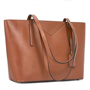 BROMEN Women Handbags Designer Leather Tote Purse Large Capacity Purses and Handbags Shoulder Bag Tan