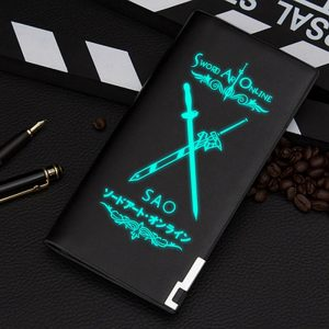 Anime Sword Art Online SAO Luminous Wallet