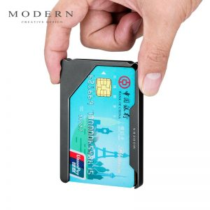 Brand Aluminum Slim Card Holder Card Wallet Credit