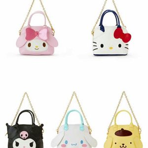 Cartoon Hello Kitty My Melody Cinnamoroll Pudding Dog Wallet