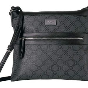 Nine West Coralia Sure Springs Crossbody Jet Black One Size