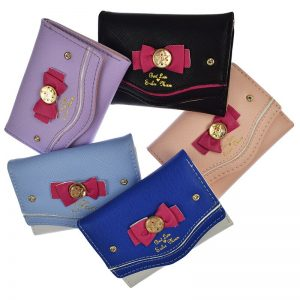 Woman Short Purse Sailor Moon Wallet